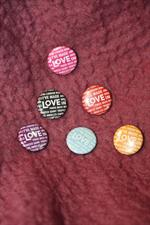 Maison de Vacances Boîte de 6 magnets I've  Made Love