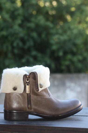 Tatoosh / Boots en cuir enfant