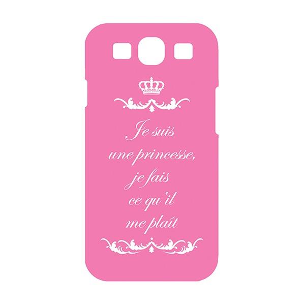 Les Invasions Ephémères / Coque pour Samsung Galaxy S3 Rose Princesse