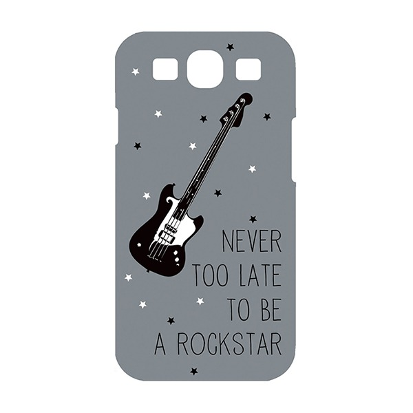 Les Invasions Ephémères / Coque Never too late to be a Rock Star pour Samsung Galaxy S3
