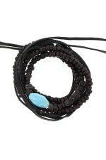 Pascale Monvoisin Bracelet Phoenix  turquoise