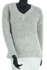 American Vintage Pull manches longues col V