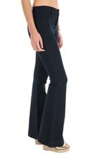 Hudson Pantalon flare bleu nuit