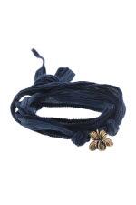 Catherine Michiels Bracelet Charm Violette en bronze
