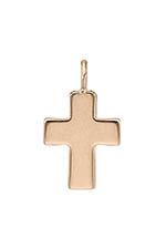 Gigi Clozeau Pendentif croix en or rose