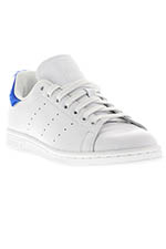 Adidas Originals Stan Smith vintage white patch bleu