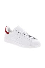 Adidas Originals Stan Smith vintage white patch rouge
