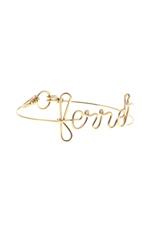 Atelier Paulin Bracelet exclusif Ferret en or