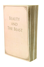 Slow Design Mute Book Beauty and the beast