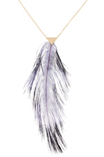 Forte Forte Collier plume