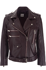 Anine Bing Cropped Moto Jacket
