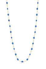 Gigi Clozeau Collier or jaune 18 carats et perles de résine