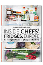 Taschen Inside Chefs'Fridges Europe