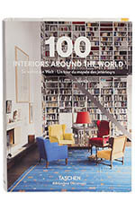 Taschen 100 Interiors around the word
