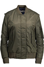 Golden Goose Bomber Sunset green