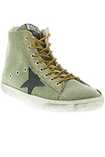 Golden Goose Sneakers Francy Canvas Olive