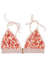 Love Stories Haut de maillot de bain Uma coral