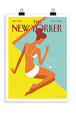 Image Republic The Newyorker 101 Niemann Dropped call  56 x 76 cm