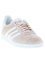 Adidas Originals Gazelle rose et blanche