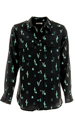 Equipment Chemise Slim signature cactus