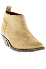 Golden Goose Boots Asia cuir velour