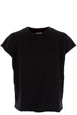 6397 Sweat-shirt Rolled cut-off