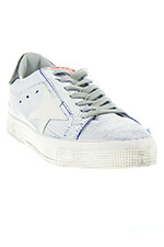 Golden Goose sneakers may Bluette silver