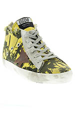 Golden Goose Sneakers Francy Palm Printed