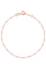 Gigi Clozeau Bracelet or rose et perles de résine