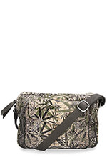 Claris Virot Sac big Charly feuilles print
