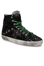 Golden Goose Sneakers Francy, taches de peintures