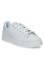 Adidas Originals Stan Smith suède patch bleu