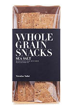 Nicolas Vahé Wholegrain Crackers with Sea Salt 100g