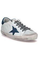 Golden Goose  Sneakers Superstar, lacets léopard