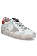 Golden Goose  Sneakers Superstar, patch orange