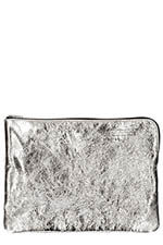 Golden Goose Toast bag silver and gold