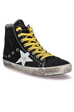 Golden Goose Sneakers Francy, lacets jaune