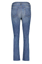 Mother Jean High Waisted Rascal Ankle Fray