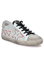 Golden Goose Sneakers Superstar, Hearts and Star