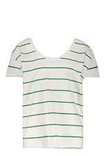 Margaux Lonnberg Tee-shirt Maja Green Stripes