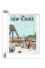 "Image Republic The Newyorker ""Summer getaway"" Tomine 40x50"