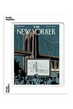 "Image Republic The Newyorker ""Double feature"" Ware 40x50"