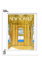 "Image Republic The Newyorker ""Yellow room by the sea"" Getz 40x50"