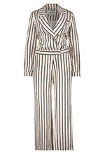 Margaux Lonnberg Combinaison Charlie off White Stripes