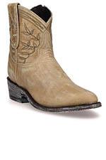 Mexicana Boots Polozipper 7 Bone Vesuvio