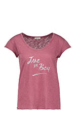 American Vintage Tee shirt Jane pêche de vigne