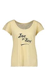 American Vintage Tee shirt Jane crème anglaise