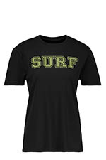 6397 Tee shirt Surf City black