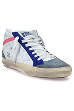 Golden Goose  Sneakers Mid Star, White Tennis Leather