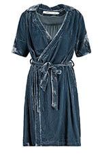 Fabric Copenhagen Robe en velours jeans